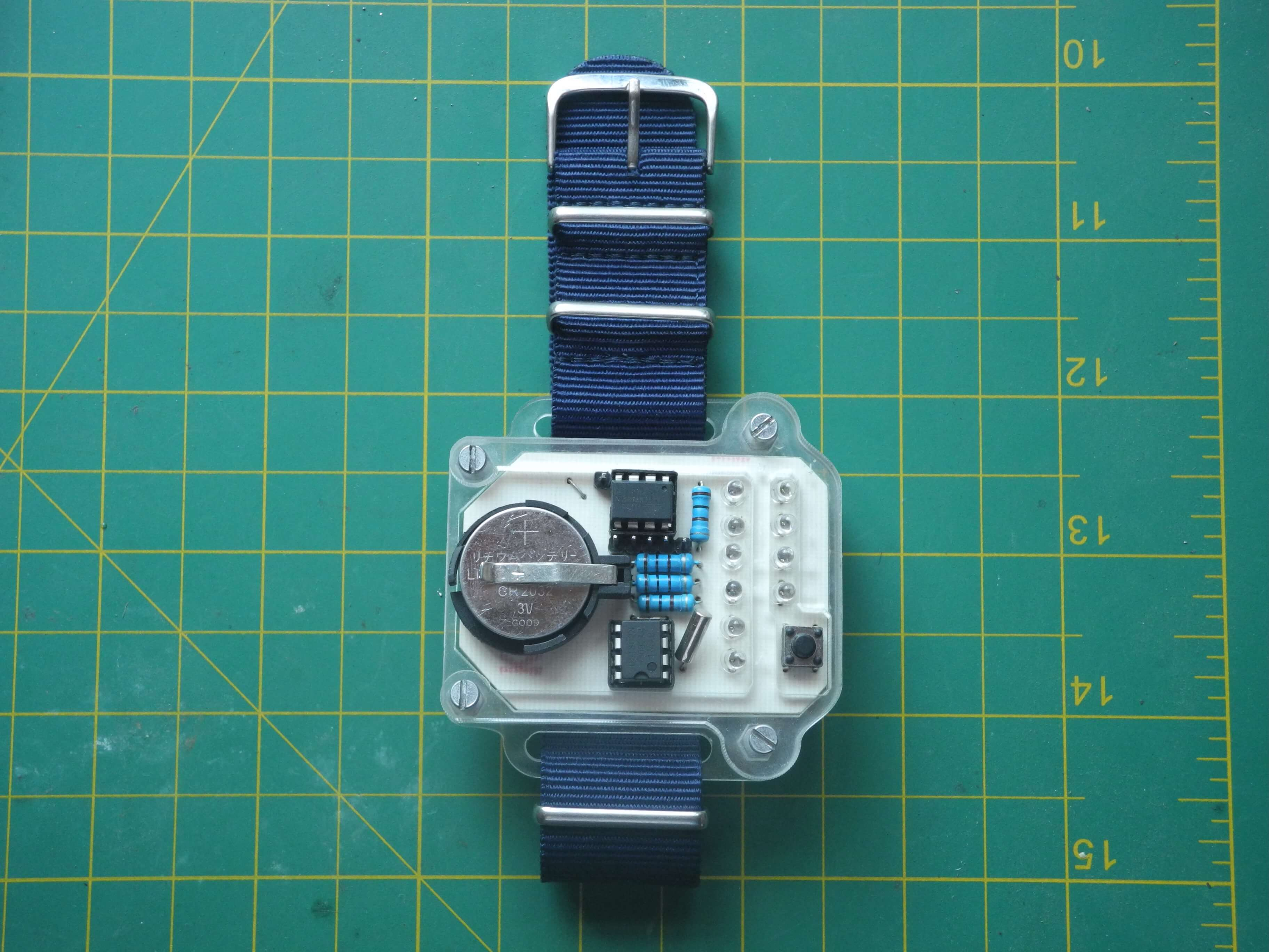 watch with wriststrap